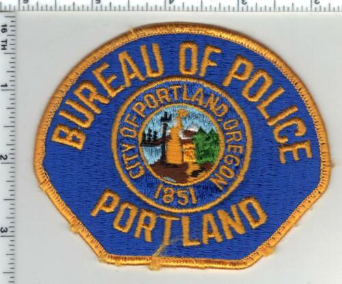 Portland Bureau of Police (Oregon) 2nd Issue Uniform Take Off Shoulder Patch