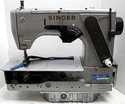 Singer 552b-301 Chainstitch High Speed Industrial Sewing Machine Head Only