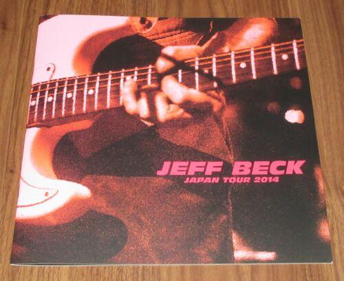 $0 SHIP! Jeff Beck JAPAN tour book 2014 concert program MORE listed NEAR mint!