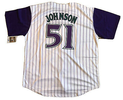 Randy Johnson #51 Arizona Diamondbacks size Adult XL white jersey- NEW