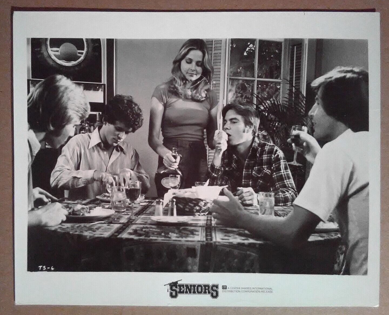 8x10 Photo THE SENIORS 1978 Dennis Quaid Priscilla Barnes Gary Imhoff - $5.00