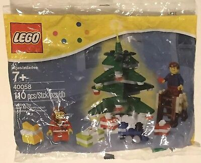 ➖ LEGO Seasonal Decorating the Tree 40058 New in Sealed Polybag Christmas ➖