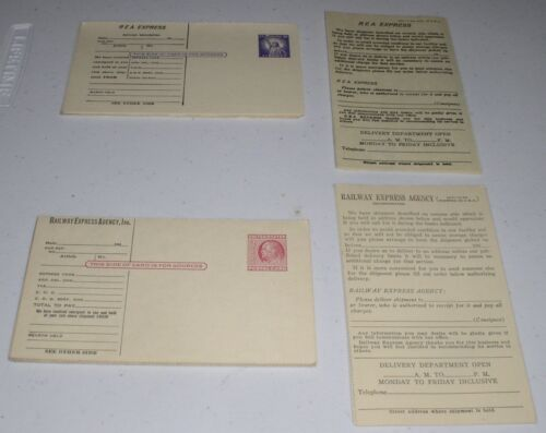 LOT OF 20 VINTAGE ANTIQUE RAILWAY EXPRESS AGENCY INC. POSTCARDS 1950