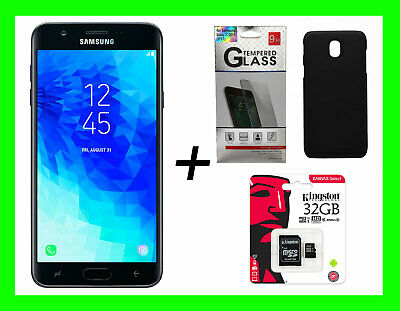 Samsung Galaxy J3 2018 Black STAR/ORBIT 16GB GSM Unlocked ATT TMobile*FREE GIFTS (Samsung Galaxy 3 Tmobile Handy)