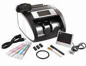 G-Star Technology Money Counter Ultraviolet/MG/IR Counterfeit Bill Detection