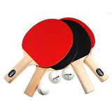 New Stiga Classic 4-Player Table Tennis Ping Pong Paddles Racket Set Ship Free