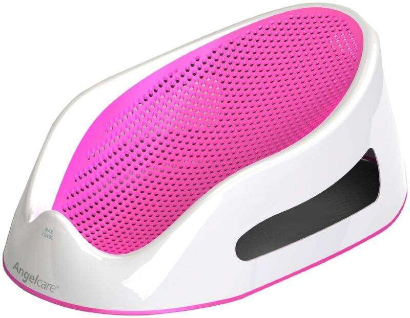 New Pink Infant Girls Safety Bath Tub Seat