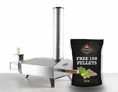 Uuni 3 Wood Pellet Pizza Oven W Stone Peel With 10 Free Bbq Pellets