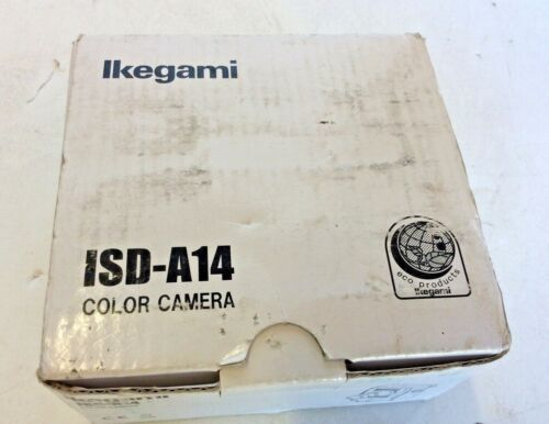 IKEGAMI isd-a14 color camera