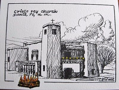 Christmas / Holiday Cards. Cristo Rey Church, Santa Fe, 5/20.00 FREE SHIPPING!