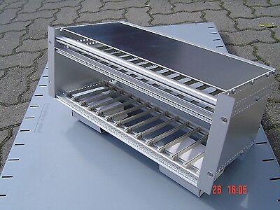 Schroff Baugruppenträger Gehäuse Alu Rack - 17 Zoll - OVP