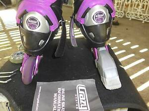 Inline Rollerblade's adjustable New Farm Brisbane North East Preview