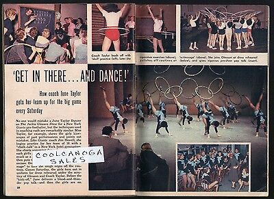1957 Tv Article~JUNE TAYLOR DANCERS~JACKIE GLEASON~HULA HOOPS~DANCING GIRLS