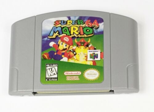 Super Mario 64 -- for Nintendo 64 N64
