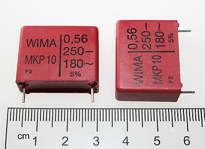 MKP Film Capacitor Radial bedrahtet 2 WIMA MKP 10 2,2uF 10/% 250V RM37 5 1 St