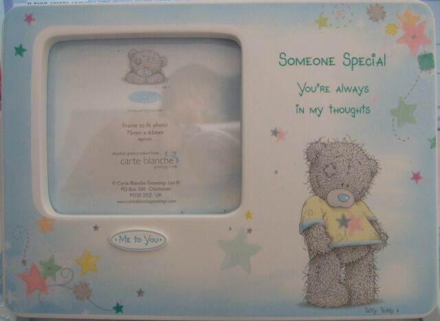 "Me To You Photo Frame""Someone Special"" By Carte Blanche.Birthday Christmas Gift"
