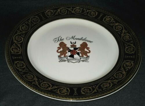 "Dinner PLATE, restaurant ware, porcelain, Montcleone, New Orleans, LA, 1982, 10"""