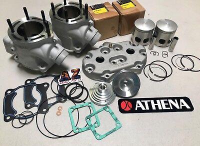 Yamaha Banshee Athena 400cc 68 Big Bore Cylinders Pistons Top Rebuild Head Domes for sale  Gilbert