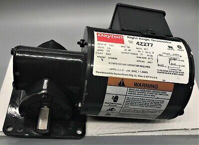 Dayton Right Angle Ac Gearmotor 4z277