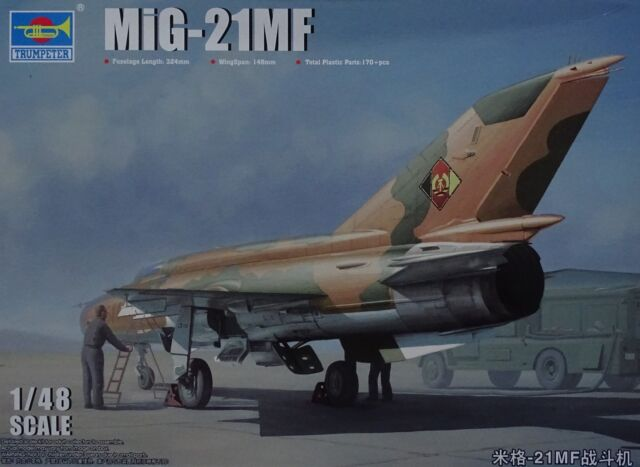 TRUMPETER® 02863 MiG-21MF Fighter in 1:48
