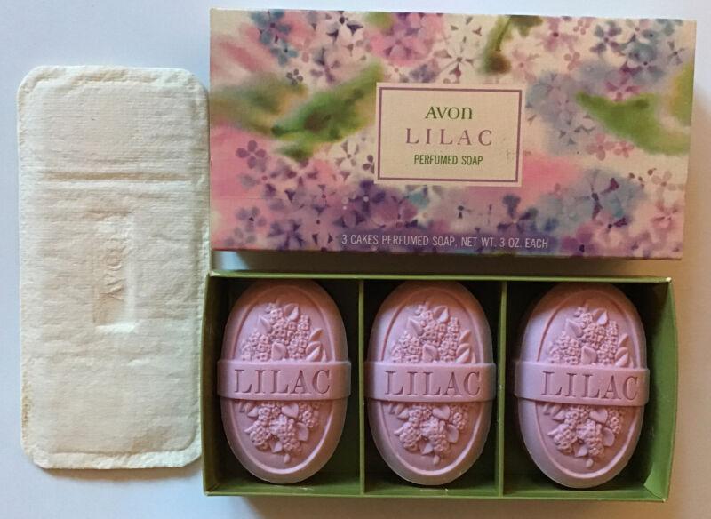 "Avon Vintage- 1970's ""Lilac"" Perfumed Soap-3."