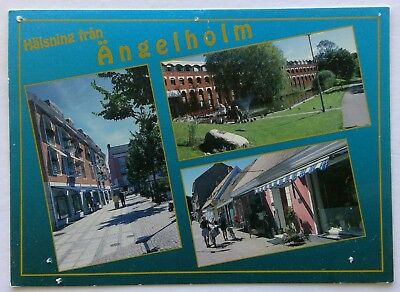 Angelholm Sweden Postcard (P272)