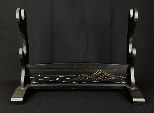 Japanese Antique Samurai Katana Kake Sword Rack ( b767)