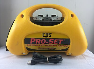 Cps Pro-set Refrigerant Recovery System