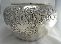 N8799 Favoloso Cachepot Porta Vaso Grande In Argento Sheffield Collection -  - ebay.it