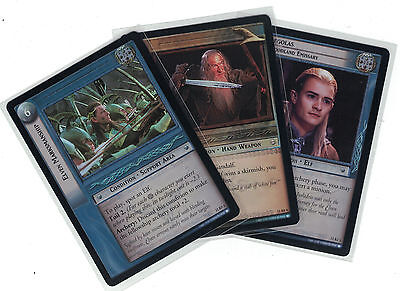 Lord of the Rings CCG Shadows Foil: 2x Rare  Cards   freie Auswahl    Lot