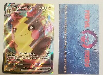 Pokemon TCG - Morpeko Vmax - Ultra Rare - 038/072 - Shining Fates ** MINT **