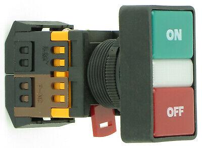 Onoff Push Button With Clear Led Pilot Light 12v 24v 120v 220v 22mm Or 30mm