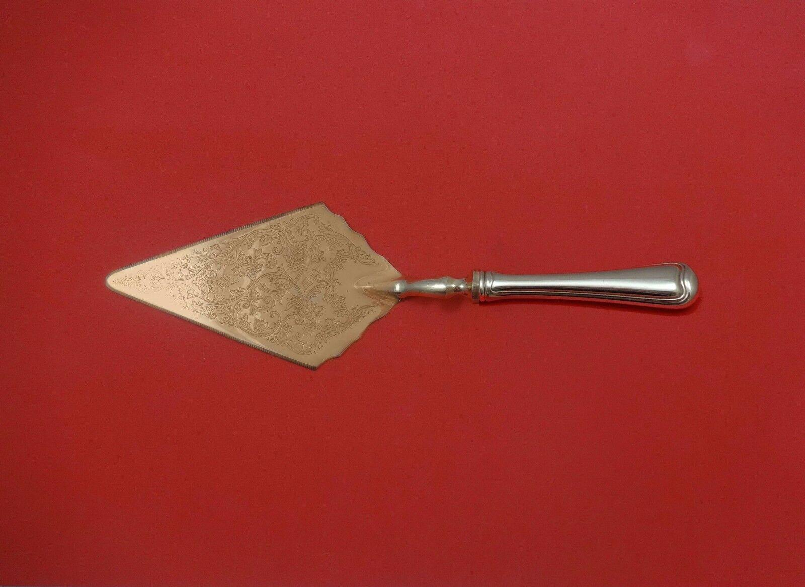 Newport Scroll by Gorham Sterling Silver Pastry Server Fancy Vermeil HH Custom