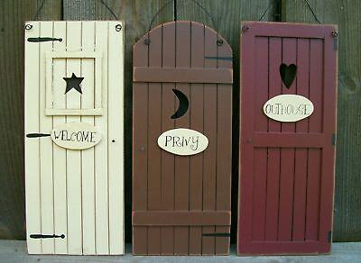 Знаки и вывески Set 3 Primitive