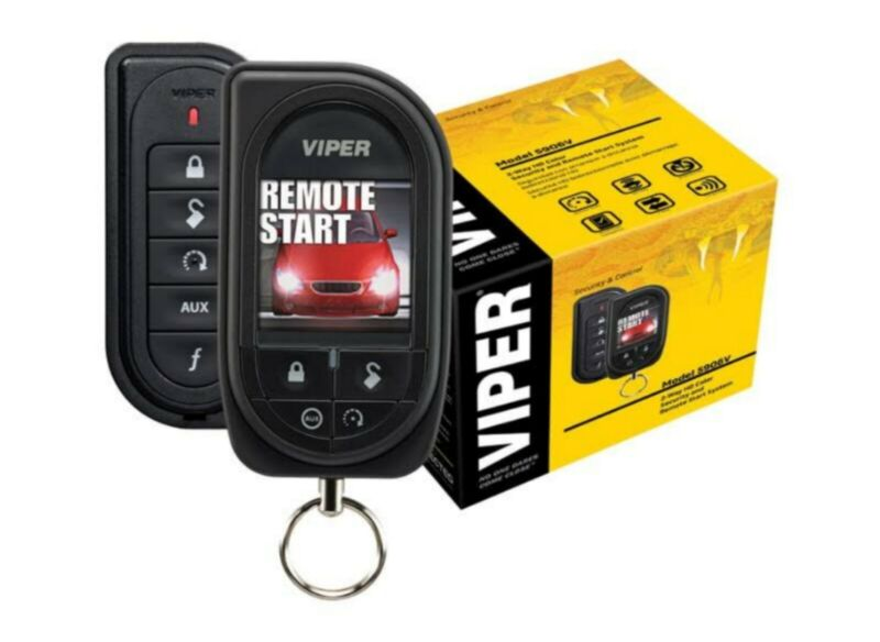 Viper 5906V 2 Way Remote Start/Alarm Color Screen 1 Mile