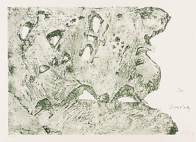 WIELAND FÖRSTER - Im Labyrinth - Farblithografie 2007