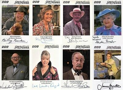 Are You Being Served Again BBC TV Comedy Grace & Favour Signed lot 8 photos LOOK