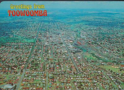 TOOWOOMBA QLD The Garden City Australia Postcard (NV) Mint (Garden City Qld)