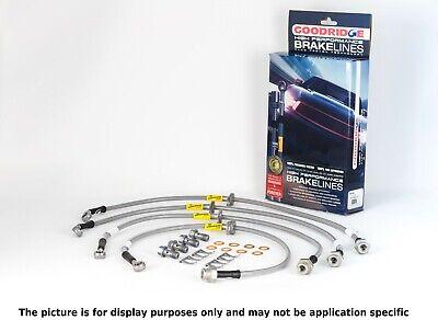 Goodridge 45001 Stainless Steel Brake Line Kit For 03-07 AM General Hummer H2