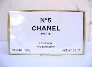 CHANEL CHANEL NO 5 -  THE BATH SOAP BNIB - 150g  CELLOPHANE SEALED