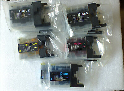 Lot Ink Cartridges fits Brother MFC-J5910DW J6510DW J6710 J6910 J825DW LC1240, usado segunda mano  Embacar hacia Spain