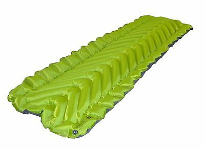 KLYMIT Static V2 Sleeping Pad GREEN Lightweight Camping BRAND NEW