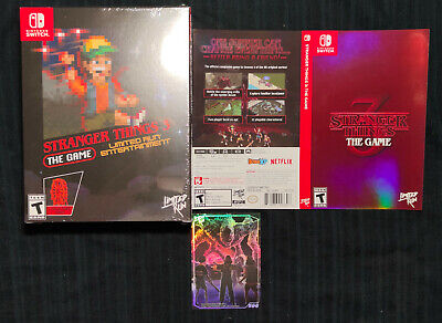 Stranger Things 3 the Game - limited Nintendo Switch super games run rare nes