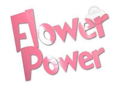 Flower Power car Decal by STICKERCORP [ jdm truck rv window vinyl STICKER] 5
