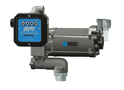 Gpi Fuel Transfer Pump 35 Gpm Ac 115v With Mechanical Meter Gpro Pro35-115po