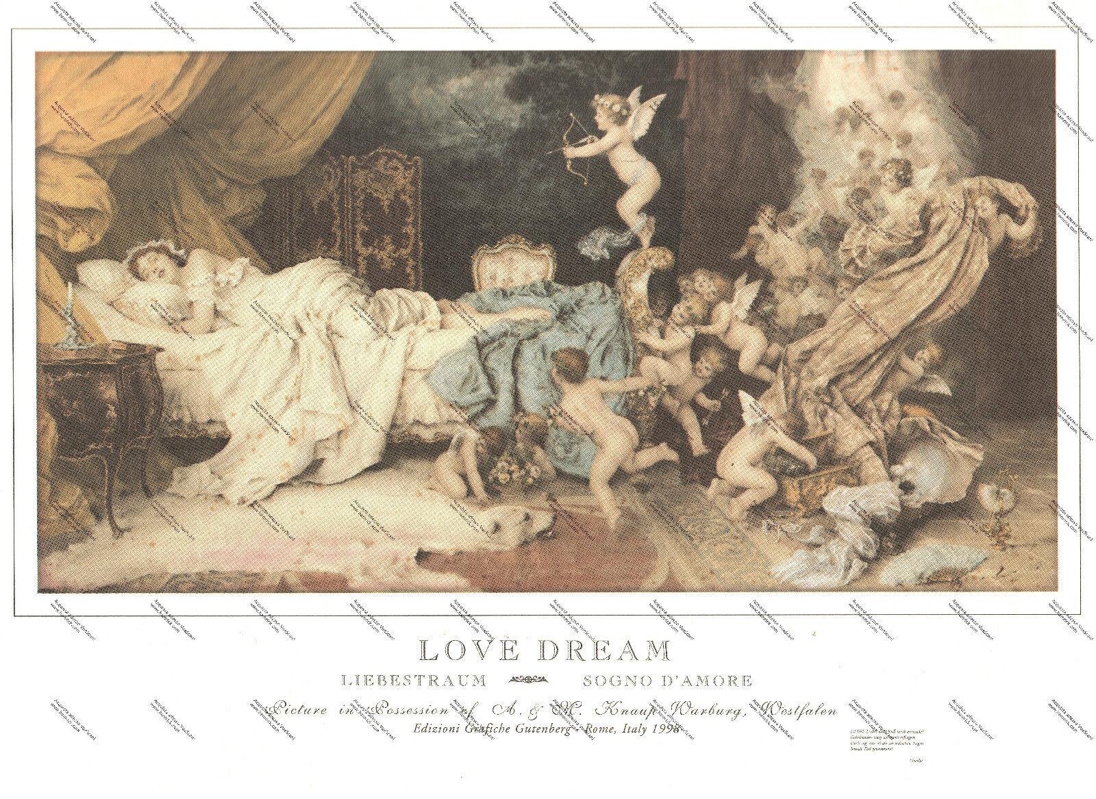 STAMPA D'ARTE - LOVE DREAM, SOGNO D'AMORE Francesco Vinea - © GRAFICHE GUTENBERG