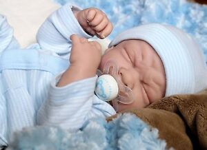 IT'S BABY BOY! Newborn PREEMIE Berenguer Life Like Reborn Pacifier Doll + Extras