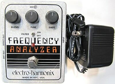 Used Electro Harmonix Ehx Frequency Analyzer Ring Modulator Guitar Effects Pedal