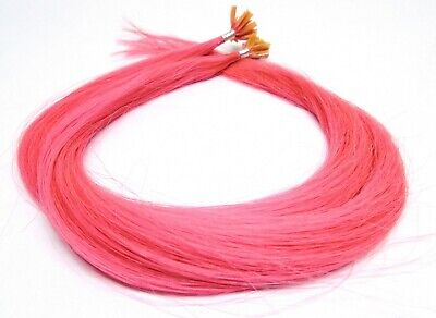 n Hair Extensions Haarverlängerung light pink 60cm lang NEU (Pink Hair Extensions)