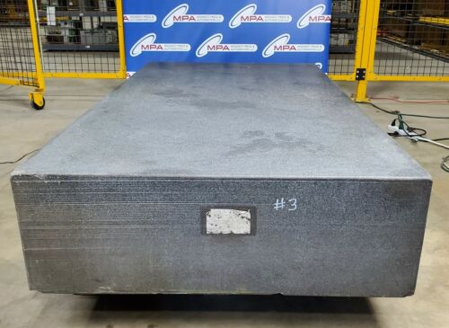 """Granite Surface Plate 6ft by 3ft by 1ft / 72""""x36""""x12"""" / 72"""" x 36"""" x 12"""""""